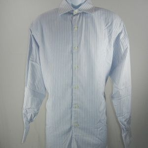 Brooks Brothers Men Long Sleeve Button Up Striped